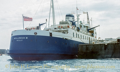 RMV SCILLONIAN - on board - May 29, 1992