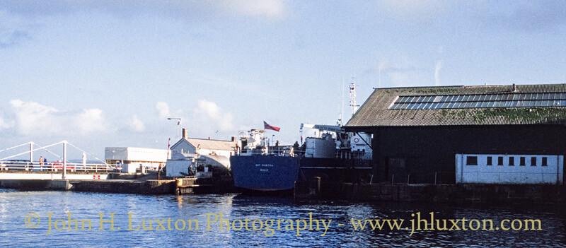 MV GRY MARITHA - Penzance - Cornwall - November 01, 1990