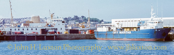 MV GRY MARITHA - Penzance - May 26, 1991