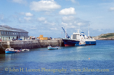 RMV SCILLONIAN III - High Town - St Mary's - Isles of Scilly - August 14, 1992