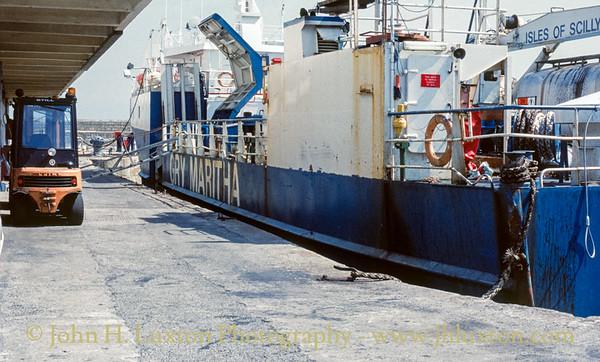 MV GRY MARITHA - Penzance - May 26, 1991