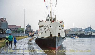 MV BALMORAL - Cumberland Basin - Bristol - August 1994
