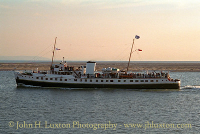 MV BALMORAL in Crosby Channel - May 1997