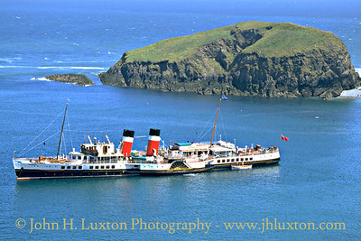 PS WAVERLEY, Lundy Island - May 28, 1995