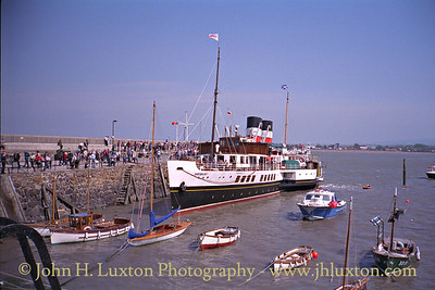PS WAVERLEY at Minehead Harbour - May 30, 1995