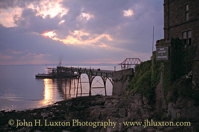MV BALMORAL at Clevedon Pier - May 1995