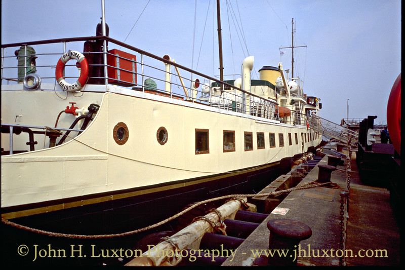 MV BALMORAL at Liverpool Landing Stage - May 1995