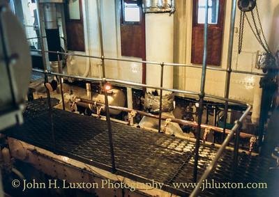 MV BALMORAL - Engine Room - September 17, 1991