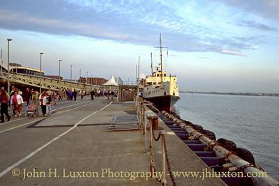 MV BALMORAL at Liverpool Landing Stage - May 1995