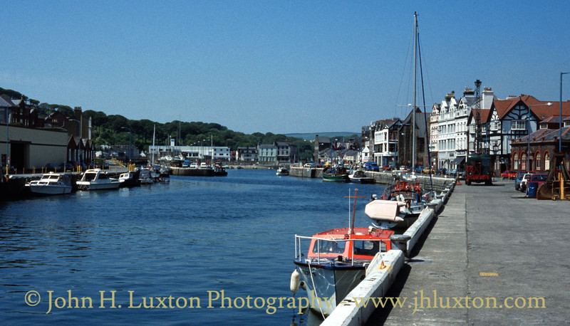 Douglas Harbour, Isle of Man - July 1996