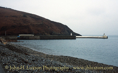 Laxey Harbour Entrance, Isle of Man - February 21, 1996