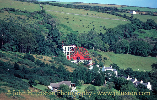 Laxey Wheel, Isle of Man - August 19, 1995