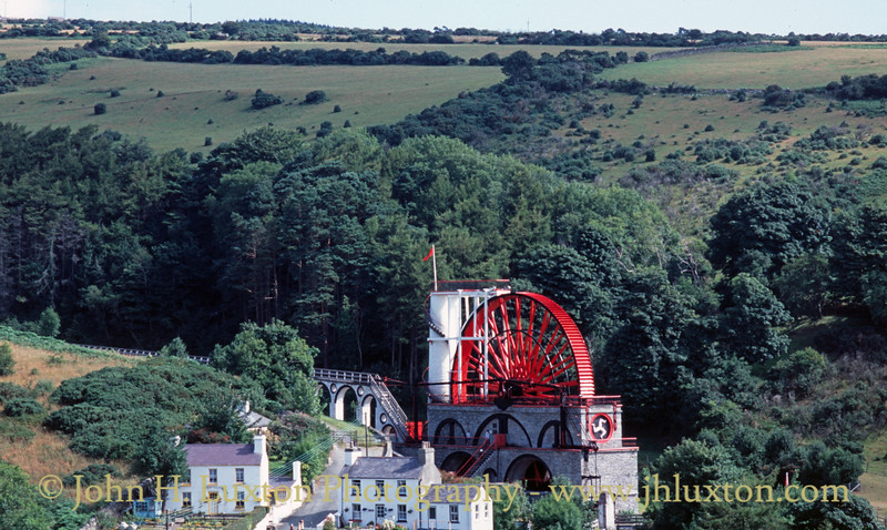 The Laxey Wheel, Laxey, Isle of Man - August 04, 1995