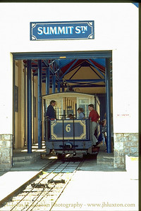 The Great Orme Tramway - May 1995.