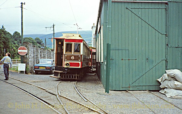 Manx Electric Railway - July 25, 1994