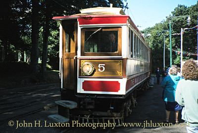 Manx Electric Railway - August 1994