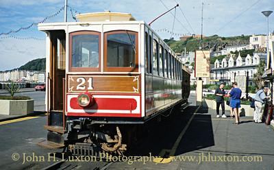 Manx Electric Railway - July 25, 1994