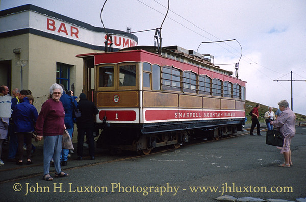 Snaefell Mountain Railway - July 25, 1994