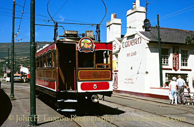 Snaefell Mountain Railway - August 04, 1995