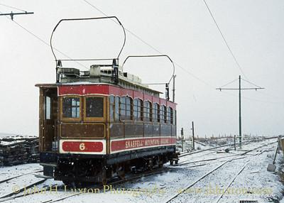 Snaefell Mountain Railway - February 26, 1996