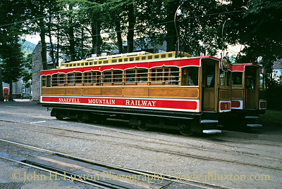 Snaefell Mountain Railway - July 27, 1995