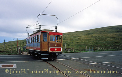 Snaefell Mountain Railway - July 29, 1995