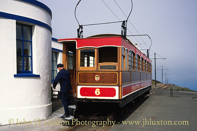 Snaefell Mountain Railway - July 29 1995