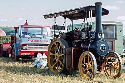 "Wallis & Steevens Tractor 7289 - AA5014, ""Tinkerbell"" - August 18, 1979"