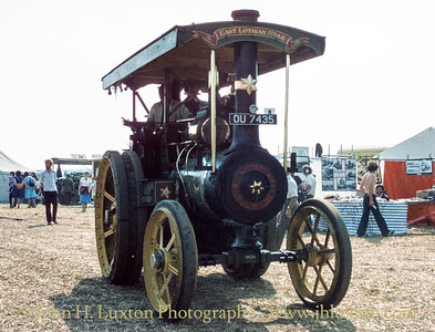 "Wallis & Steevens General Purpose Traction Engine - 8052 - ""East Lothian Star"" - OU 7435"