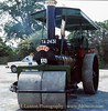 """Green Steam Road Roller - 1968 - TA2431 - """"Rose""""  - May 27, 1990"""