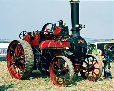 "Marshall General Purpose Traction Engine - 69303 - ""Titan"" - NM 340  - September 06, 1981"