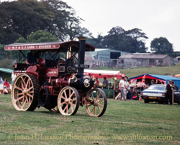 "Garrett Steam Tractor - 34789 - YB7841 ""Cornish Star - September 03 1984"