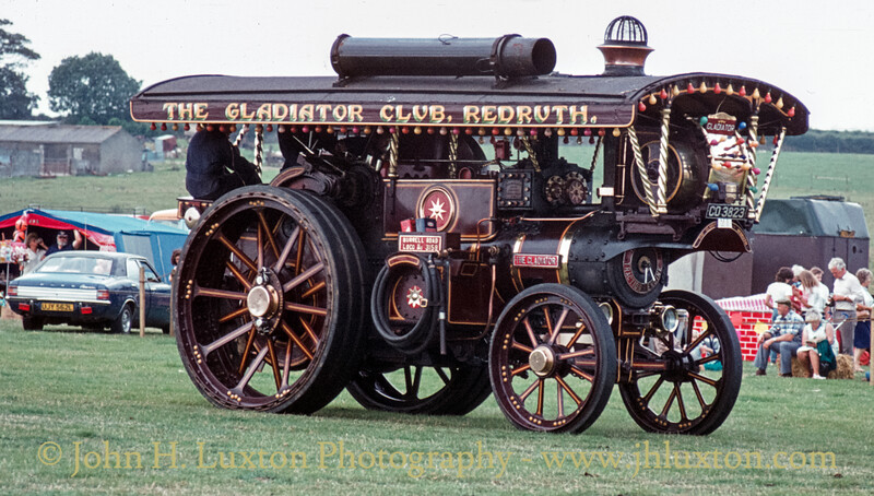 "Burrell Showmans Road Locomotive ""The Gladiator""  3159 - CO3223 - September 03, 1984"