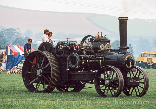 Fowler K7 Steam Ploughing Engine - 14256 - KE3135 - September 03, 1984