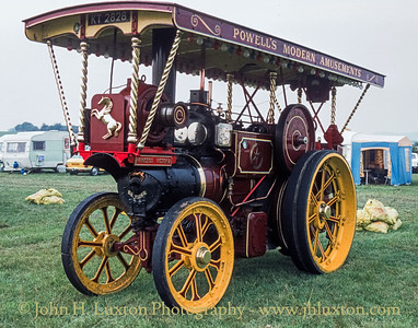 "Aveling & Porter Showmans Steam Tractor - 8376 - KT2828 - ""Princess Victoria"" - September 03, 1984"