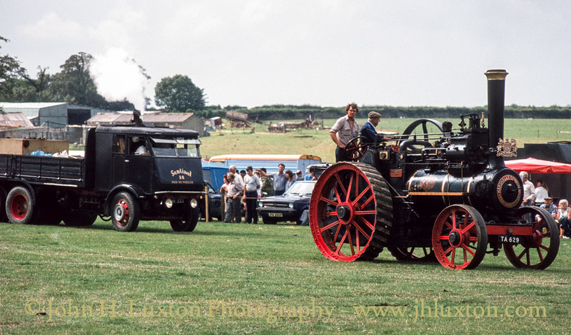 """Marshall General Purpose Traction Engine - 38024 - TA 629 """"Cressing Temple"""" - September 03, 1984"""