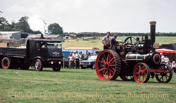 "Marshall General Purpose Traction Engine - 38024 - TA 629 ""Cressing Temple"" - September 03, 1984"