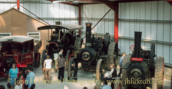 Exhibition Hall - Bressingham Gardens Steam Museum - April 15, 1979