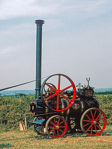 Marshall Portable Steam Engine & Saw - September 06, 1981