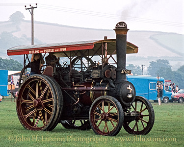 Aveling & Porter General Purpose Traction Engine - 9096 - AF6001 - September 03, 1981