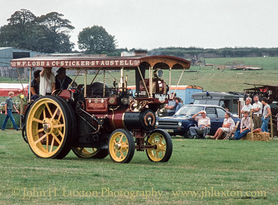 "Aveling & Porter Steam Tractor -  8432  - NM244 - ""Mendip Star"" - September 03, 1984"