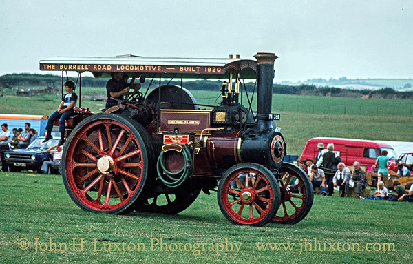 "Burrell Road Locomotive - 3824 - YA366 - ""Lord Fisher of Lambeth"" - September 03, 1984"