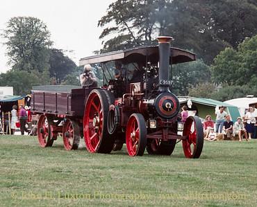 """Burrell Road Locomotive - 3996 - E9597 """"Conqueror"""" - September 03, 1984"""