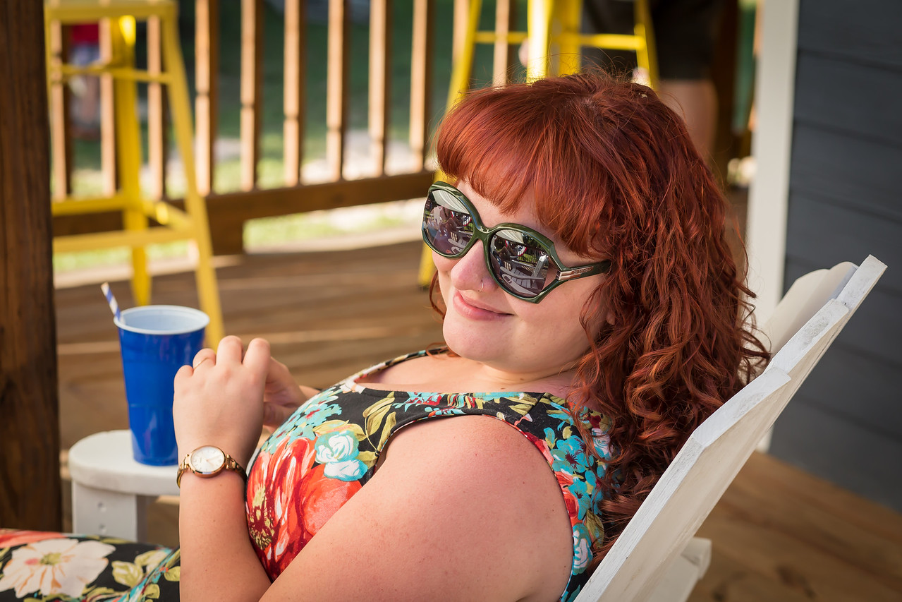 Miss Suzanne,what a great friend and a beautiful smile.She is I of  stand in Photographer while I and Laurie are busy.Doing fire works and food,