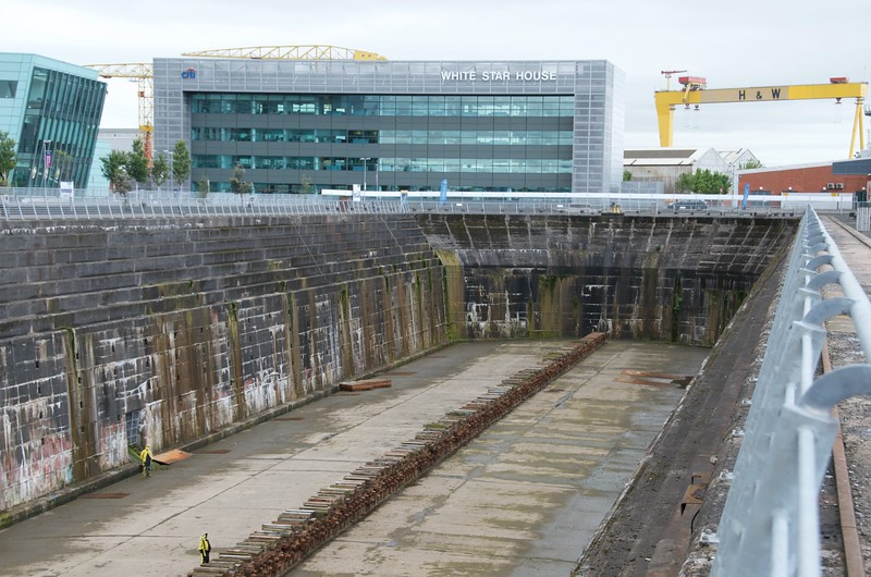 Titanic dockyard