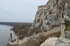 Devín castle and river