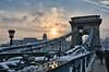 Budapest evening bridge