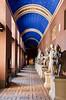 Statue hallway