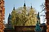 Castle statue view