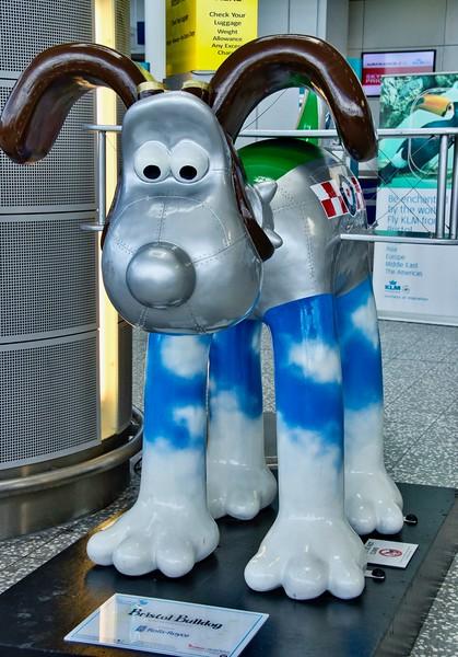 Bristol Bulldog Grommit at Bristol Airport